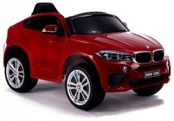 BMW X6M 12V Lakierowane Czerwone Auto na akumulator dla dzieci