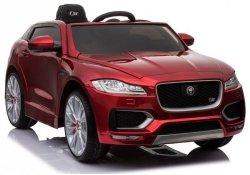 Jaguar F-Pace XXL Lakierowany Czerwony Auto na Akumulator