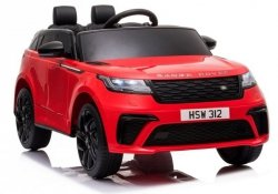 Auto na Akumulator Range Rover Czerwony