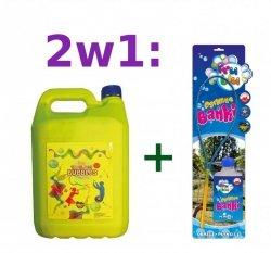 Bańki mydlane FRU BLU Obręcz + PŁYN 5,5 L