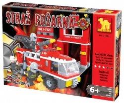 KLOCKI STRAŻ 21602 Wóz strażacki 301 elementów