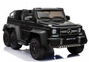 Pojazd Na Akumulator Mercedes 6x45W Czarny MP4