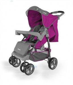 Spacerówka Milly-Mally VIP purpurowa - maksimum komfortu
