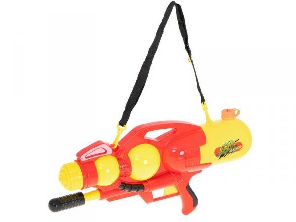 Pistolet na wodę wyrzutnia wodna 2400ml XXL czerwony
