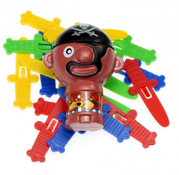 Gra zręcznościowa Szalony Pirat 9 x 9 x 12,5 cm