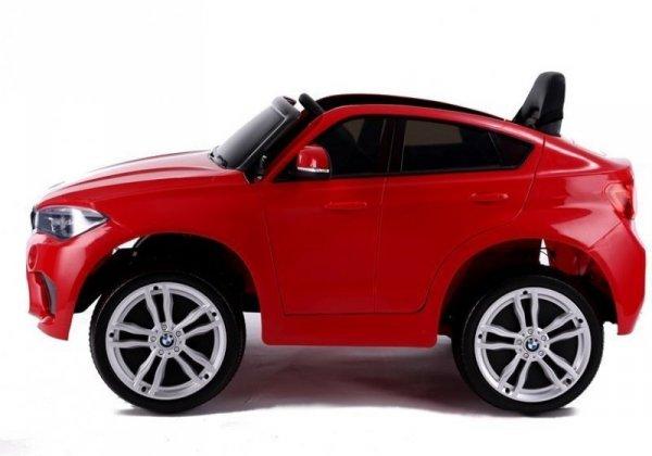 Auto na Akumulator X6 Czerwone Skóra, EVA