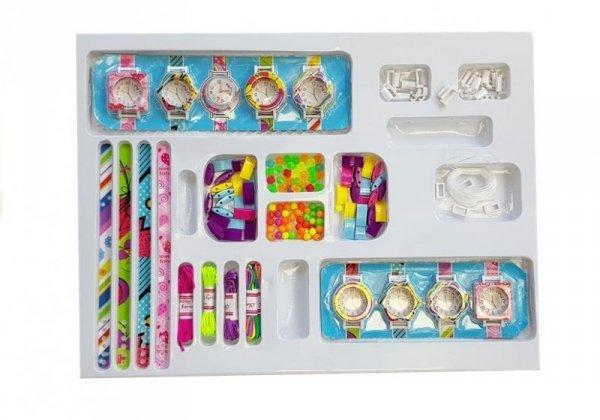 Zestaw do tworzenia Biżuterii i Zegarków DIY 110 elementów