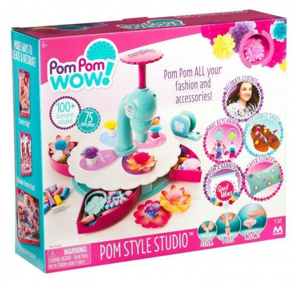 POM POM STYLOWE STUDIO 75 Pom Pomów + akcesoria - Przeniesie Cię na nowy poziom kreatywności!
