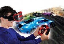REAL FEEL VR RACING KIEROWNICA I GOGLE SYMULATOR 3D REKLAMA