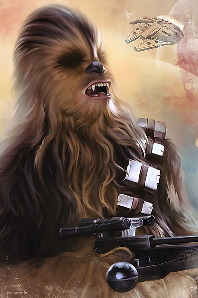 PUZZLE NANO CHEWBACCA STAR WARS EPISODE VII 362 EL.