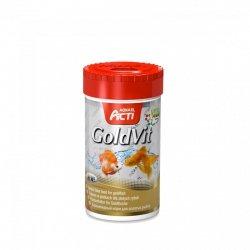 Aquael Acti Goldvit 250Ml Płatki Dla Złoytch Rybek