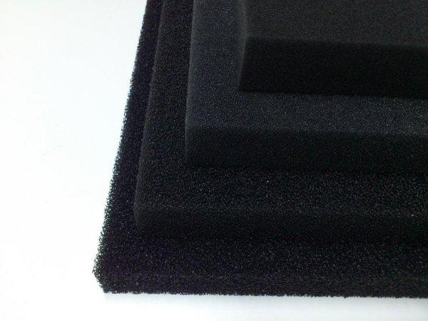 Wkład Filtracyjny Gąbka 25X25X5 30PPI Czarna