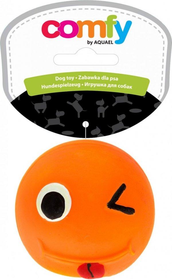 Comfy Zabawka Smile 6,5cm Pomarańczowa