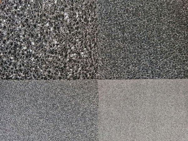 Wkład Filtracyjny Gąbka 20X20X1 30Ppi CZARNA