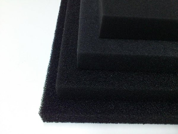 Wkład Filtracyjny Gąbka 50X50X5 10PPI Czarna