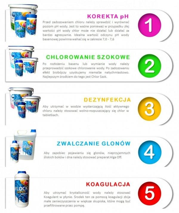 Gamix Chlor Multi Tabletki 3W1 1Kg Wielofunkcyjne