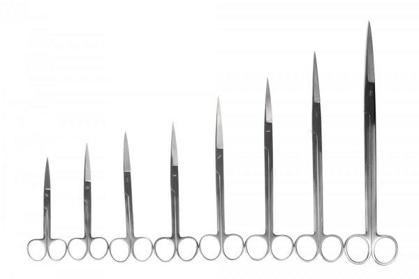 Nożyczki Akwarystyczne Proste 13 Cm Precyzyjne