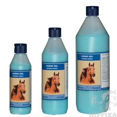 ECLIPSE BLUE - HORSE GEL Maść Końska 1l