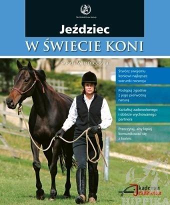 """książka """"Jeździec w świecie koni"""" Sarah Widdicombe"""