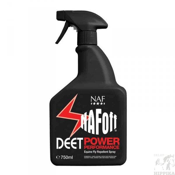 NAF Off Deet Power Performance - preparat odstraszający owady dla kon 750 mli
