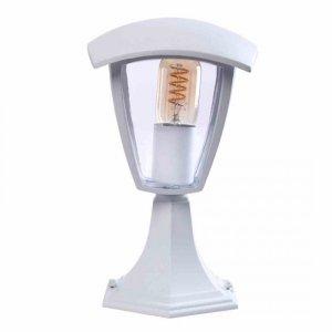 Lampa ogrodowa stojąca FOX WHITE 1xE27 Mała