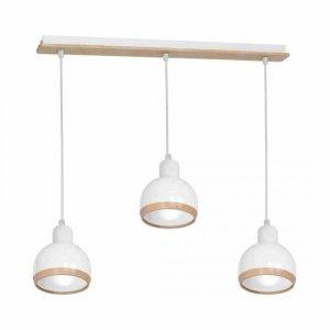 Lampa wisząca OVAL WHITE 3xE27