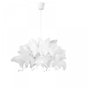 Farfalla 1 wisząca biała