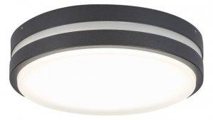 LAMPA SUFITOWA PLAFON ZEWNĘTRZNY OGRODOWY ANTRACYT RABALUX 8847 HAMBURG