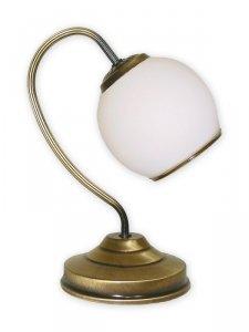 Rodos lampka stołowa 1 pł. / patyna