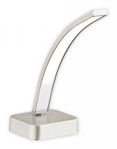 Linea LED lampka stołowa 1 pł. / satyna + chrom
