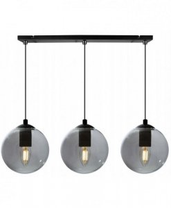 Lampa wisząca ze szklanymi kloszami - PARIS 2290/3