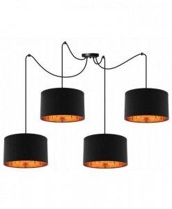 Lampa wisząca z abażurami - SPIDER SHADE 2085/4/35