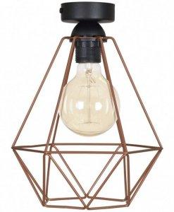 Lampa 1-płomienna LOFT Industrialna - FUSION 1546/1 PLAFON