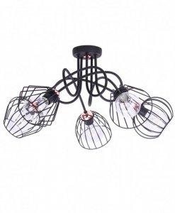 Lampa 5-płomienna LOFT Industrialna - Edison 1427/5M