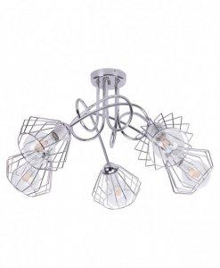 Lampa 5-płomienna LOFT Industrialna - Edison 1428/5