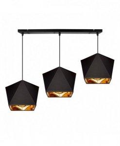 Lampa wisząca nowoczesna - DIAMOND GOLD 2145/3