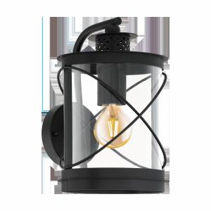 EGLO HILBURN 94843 KINKIET ZEWNĘTRZNY OGRODOWY CZARNY