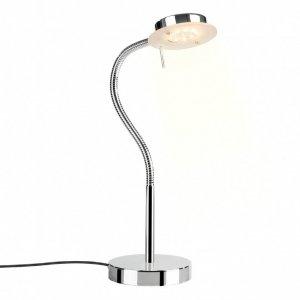 ITALUX SERGIO 14131008L LAMPKA BIURKOWA NOWOCZESNA REGULOWANA CHROM DO GABINETU