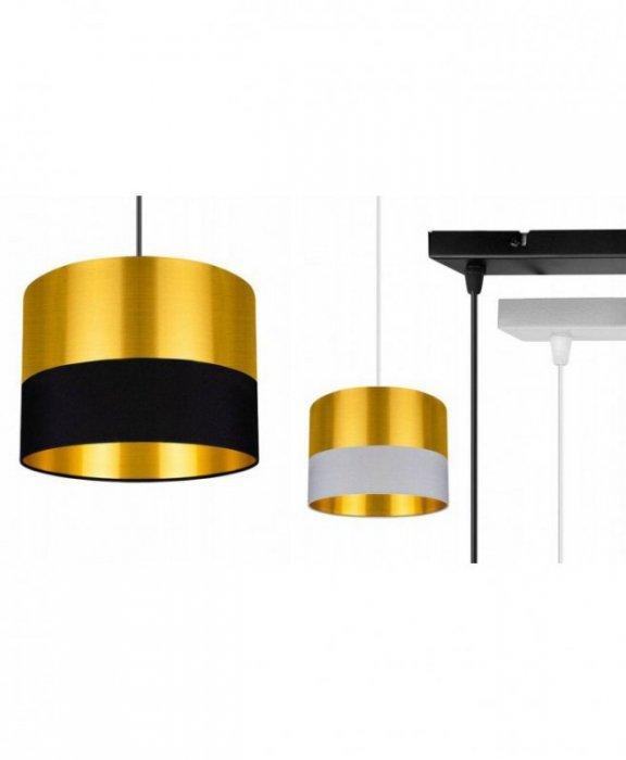 Lampa wisząca z abażurami - GOLDEN 2305/3/20