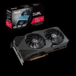 Karta VGA ASUS Dual Radeon RX 5700 EVO OC 8GB 256bit GDDR6 HDMI+3xDP PCIe4.0