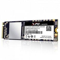Dysk SSD ADATA XPG SX6000 256GB M.2 PCIe NVMe (1000/800 MB/s) 2280, 3D NAND