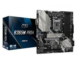 Płyta ASRock B365M PRO4 /B365/DDR4/SATA3/M.2/USB3.1/PCIe3.0/s.1151/mATX