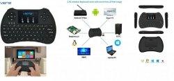 Klawiatura bezprzewodowa Venz do TV Box, Smart TV, PS3, XBOX, PC