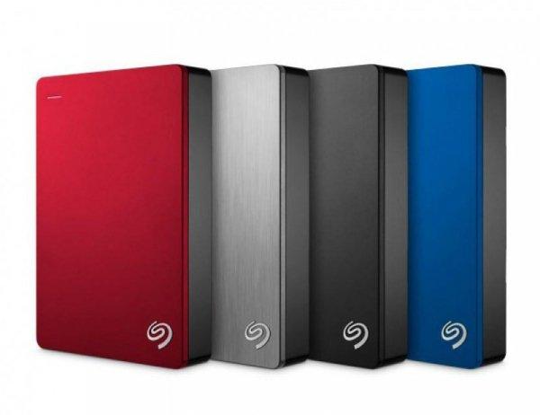 Dysk zewnętrzny SEAGATE BACKUP PLUS  STDR4000902 4TB USB3.0 czerwony