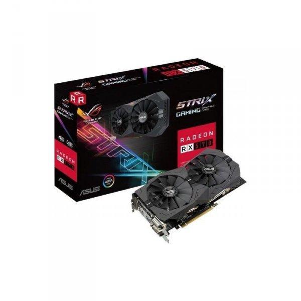Karta VGA Asus RX 570 4GB GDDR5 256bit 2xDVI+HDMI+DP PCIe3.0