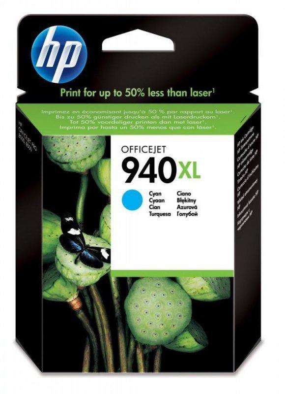 Tusz HP 940XL Cyan C4907AE