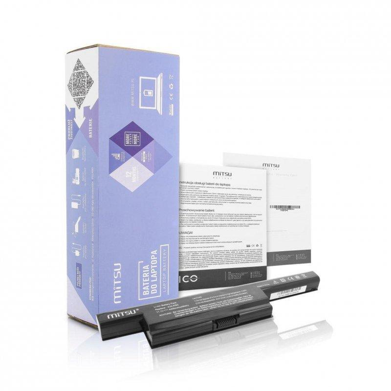 Bateria Mitsu do notebooka Asus K93, K95 (10.8V-11.1V) (4400 mAh)
