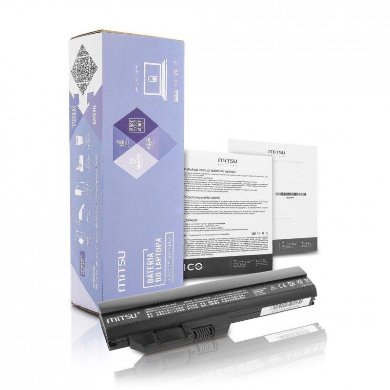 Bateria Mitsu do notebooka HP Mini 311, 311C (10.8V-11.1V) (4400 mAh)