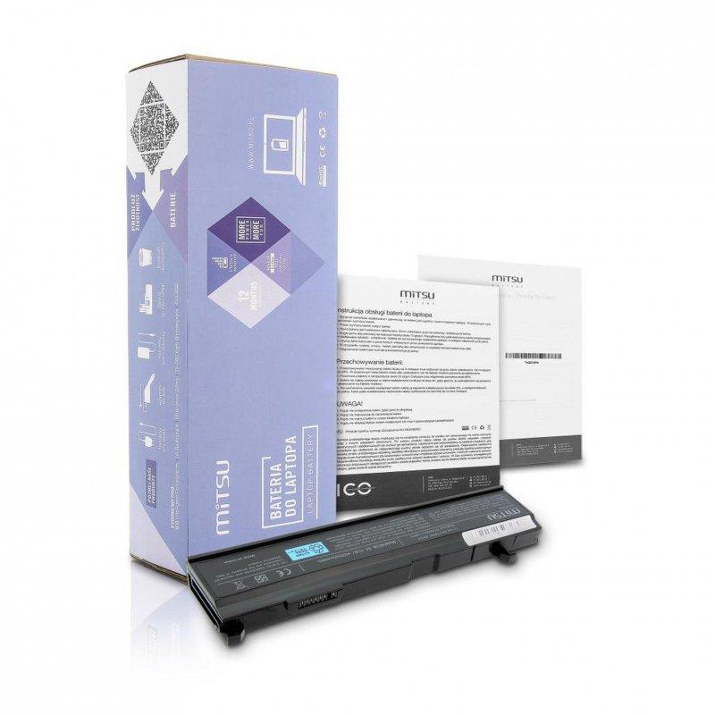Bateria Mitsu do notebooka Toshiba A80, A85, A100 (10.8V-11.1V) (4400 mAh)