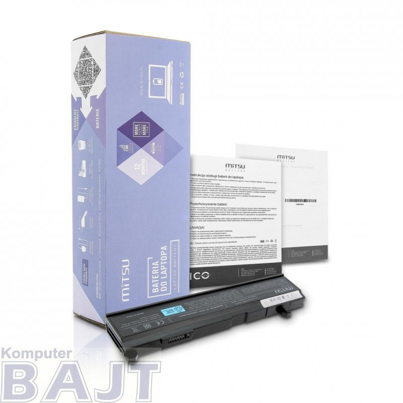 Bateria Mitsu do notebooka Toshiba A80, A85, A100
